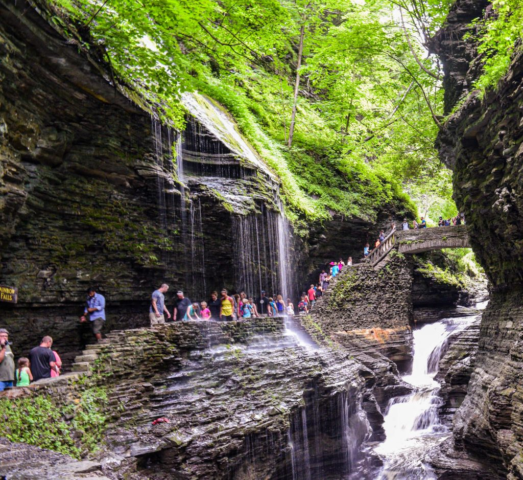 Waterfall at Watkins Glen